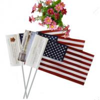 Cheap wholesales cheap price material hand waving flag with customized logo for sale