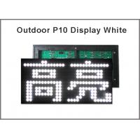 China P10 led module p10 Led sign module For Advertising LED Display Board 5V LED display screen white color on sale
