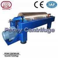 Automatic Horizontal Decanter Centrifuges Sewage Treatment Equipment For Industry Manufactures
