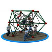 Cheap Easy To Climb Kids Rope Playground For Grassland Weather Resistant KP-PW031 for sale