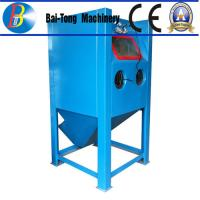 Cheap Stainless Steel Body Wet Abrasive Blasting Cabinet , Wet Sand Blasting Machine Pneumatic Pedal Switch for sale