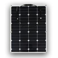 Cheap 18 Volt 60 Watt RV Flexible Solar Panels Convenient With Safety Protection for sale