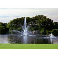 China Stainless Steel Fountain Jets Floating Water Fountain For Pond / Tank Decoration on sale