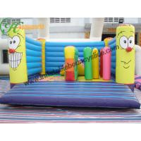 Cheap Colorful  Kids Clown Inflatable Bouncy Castle Attractive For Futdoor Entertainment for sale