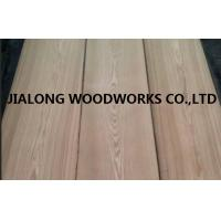 Buy cheap Brown Natural Russia Ash Veneer Sheets Crown Cut For MDF , Chipboard from wholesalers