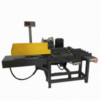 Cheap Push Button Control Horizontal Rag Baler 5.5KW With Integrated Scale for sale