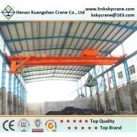 Cheap Top Quality Double Girder Grab Crane For Removing Waste for sale