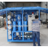 Cheap Enclosed Cover Type Transformer Oil Recycling System, Weather proof insulation oil filtration equipment for sale