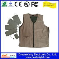 Cheap Heated Softshell Vest made from polyester for sale