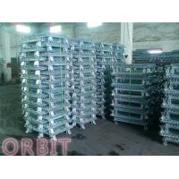 Stacking Collapsible Steel Wire Mesh Pallet Cage For Warehouse Storage