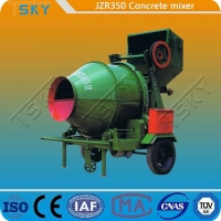 Cheap Hydraulic Tipping Type JZR350 Diesel Engine Concrete Mixer for sale