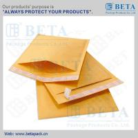 Quality BETA Golden Kraft Bubble Mailer #0 Ecolite Mailers With Strong Adhesive Tape wholesale