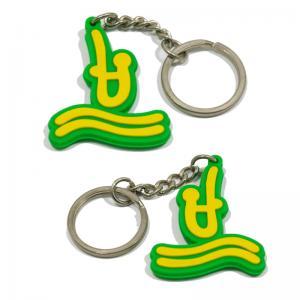 Cheap Classic style pvc key holder 3d pvc key chains 2d pvc keyring for sale