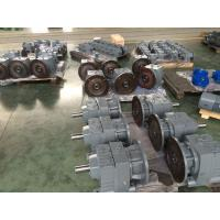 Cheap Hydraulic Industrial Helical Geared Motor With IEC / NEMA Flange for sale