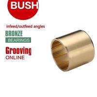 Buy cheap Infeed & Outfeed Angles Threading Grooving Bronze Bushing Blunting   C93200 from wholesalers