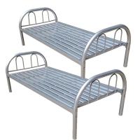 Cheap Vintage Iron Pipe King 1.5mm Single Metal Bed Frame for sale