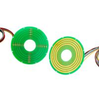 Buy cheap Pancake Slip Ring 5 Circuits @ 2A 2 Circuits @ 10A Smooth Operation And Reliable from wholesalers