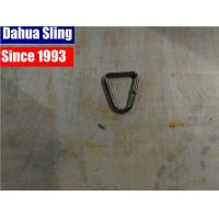 Buy cheap Professional Plastic / Rubber Surface Custom SS Ratchet Strap Hooks , 50mm D from wholesalers