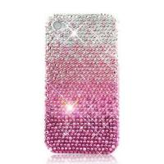 Purple Diamond Case Cover For Apple Iphone 4G/4GS