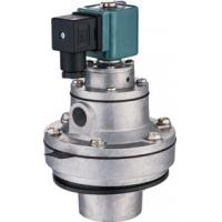 China Right Angle Pneumatic Pulse Valve Port Size DN40 D Type Solenoid Diaphragm Valve on sale