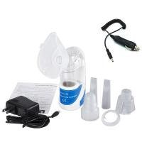 Andheld Inhaler Ultrasonic Nebulizer Machine with Car Power Adapter Charger