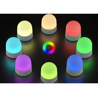 China Colorful 3 Watt LED Night Light RGB Touch Sensor Control IP20 With One USB Cable on sale