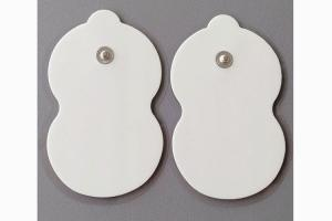 Cheap Foam snap On Pads Electro Pads for TENS/EMS Therapy - Universally Compatible with Most TENS Machine Models - Self-Adheri for sale