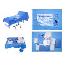 Cheap Operating Room Sterile Blue Sterile Drape Sheets for Baby Bith Surgery for sale