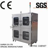 Cheap Electronic Stainless Nitrogen Dry Box / Cabinet with towder light for sale