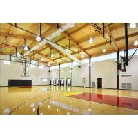 Cheap Professional PVC Sports Flooring , Basketball Court Tile Flooring Wooden Type Sealed for sale
