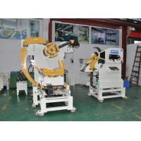 Cheap Three In One Nc Servo Steel Coil Coil Handling Systems 4.5mm Coil Feeder Machine for sale