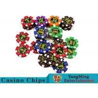 Cheap Good Printing Non - Faded Casino Royale Poker Chips With Special ABS Material for sale