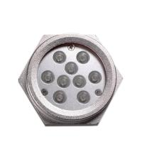 Cheap High Power 27W RGB Drain Plug Led Underwater Boat Light Stainless Steel 316 for sale