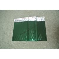 "Acid Resistant Metallic Bubble Mailers Metallic Green Envelope 7.25""X8"" #CD Size"