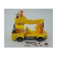 Cheap Popular Building And Construction Toys Robot Truck 3 Deformation Yellow Color for sale