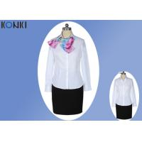 Casual v neck shirt corporate office uniform for men and women