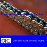 Cheap Custom 520 X Ring Motorcycle Chain With Black Inside Yellow Outerside for sale
