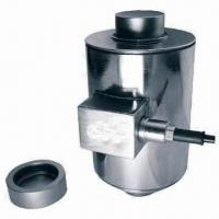 Cheap Column Load Cell with 765 Ohms Input Resistance, Made of Alloy or Stainless Steel for sale