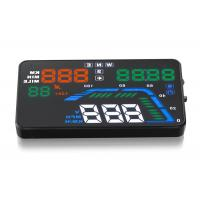 DC8 - 18 - 24V Audi Q7 Mini Head Up Display GPS A8 HUD Speedometer KMH MPH And Speed Warning System