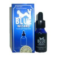 Cheap Blue Wizard 15ml Female Aphrodisiac Water Women Sex Liquid for sale