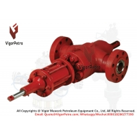 China 4-1/16 5M Bi-Directional Reverse Acting Actuated Gate Valve with Hydraulic Actuator API 6A Trim EE-0.5 U PSL-3G PR-2 on sale