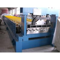 China PLC Control Hydraulic Floor Deck Roll Forming Machine For Industrial Building on sale