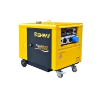 Cheap 0.418L 5.5KVA Air Cooled Portable Genset For Home 15L Tank for sale