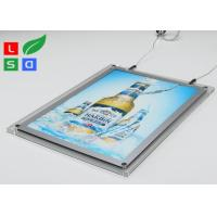 Cheap 2mm Clear Acrylic LED Crystal Light Box HS Code 94056000 For Ceiling Hanging for sale