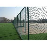 Garden PVC Coated Chain Link Fence 1.2M * 50M PVC Chain Link Fence 1.5mm-5mm