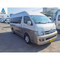 Cheap 2010 Year 13 Seats Gasoline Toyota Hiace Used Mini Bus for sale
