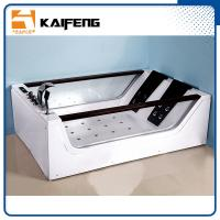 Air Switch For Jetted Tub : Double glass apron jacuzzi whirlpool bath tub with air