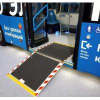 Buy cheap Manual bus and vehicle wheelchair access ramp from wholesalers