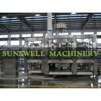 Cheap PET Glass Bottle Carbonated Filling Machine for sale