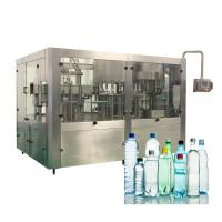 Cheap Liquid Plastic Bottle Monoblock Water Filling Machines For Industrial Use for sale